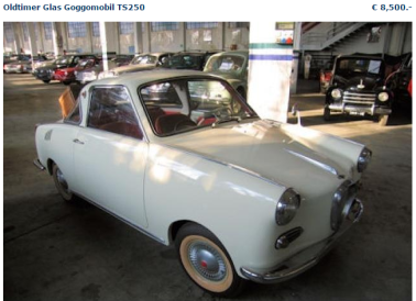 goggomobil coupe for sale