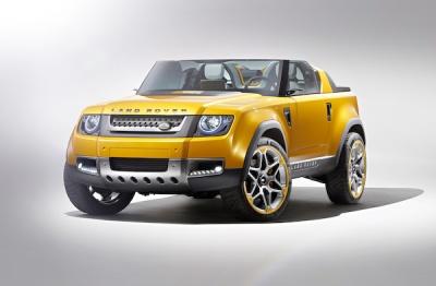 Land Rover Defender Concept sport front
