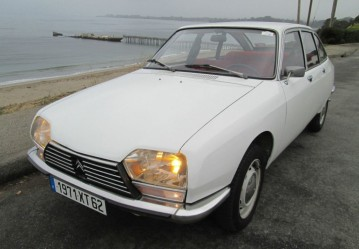 1972-Citroen-GS-Front
